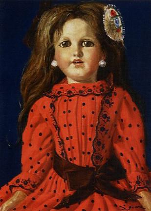 芝田米三「人形」