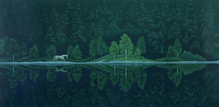 東山魁夷「緑の詩」