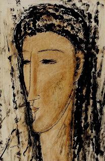 モディリアーニ「女の顔」