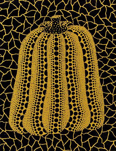 草間彌生「かぼちゃ」1990