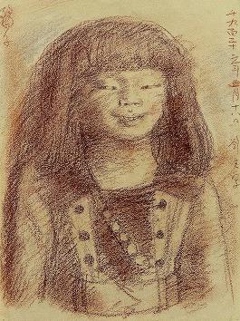岸田劉生「麗子」
