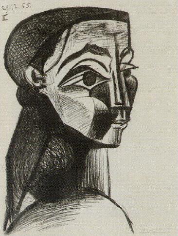 ピカソ「女の肖像Ⅱ」