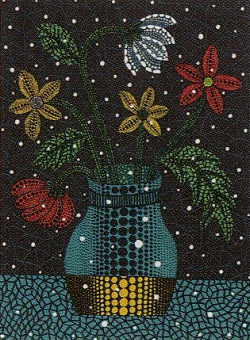 草間彌生「花」2006