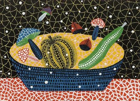 草間彌生「果物」2006
