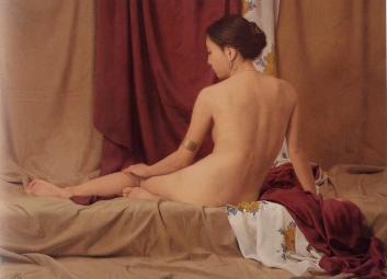 森本草介「裸婦」