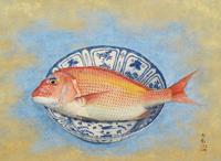青木大乗「鯛」