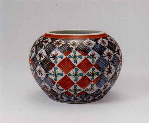 富本憲吉「色繪飾壺」