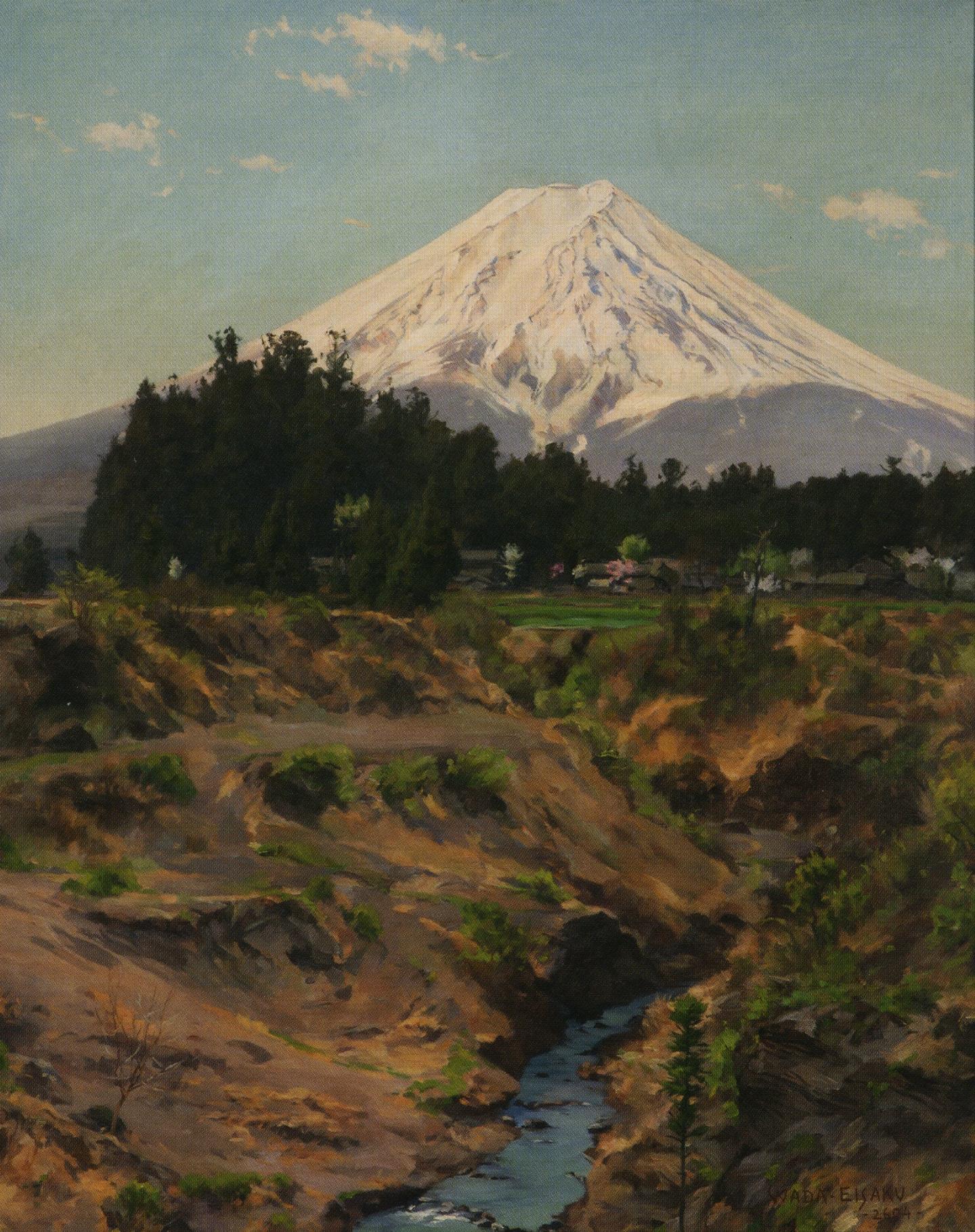 和田英作「富士山」