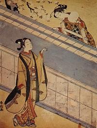 桜花の蹴鞠