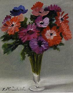 木下孝則「花瓶の花」