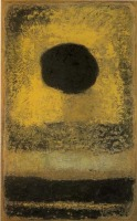 香月泰男「黒い太陽」(山口県立美術館)