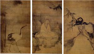 観音猿鶴図(大徳寺)