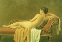 森本草介「横臥裸婦'93」