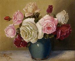 ラグーザ玉「薔薇」