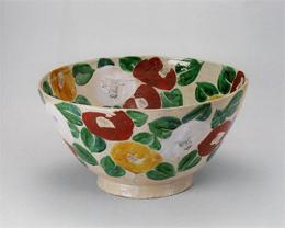 北大路魯山人「椿花鉢」