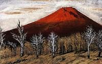 横山操「朝富士」