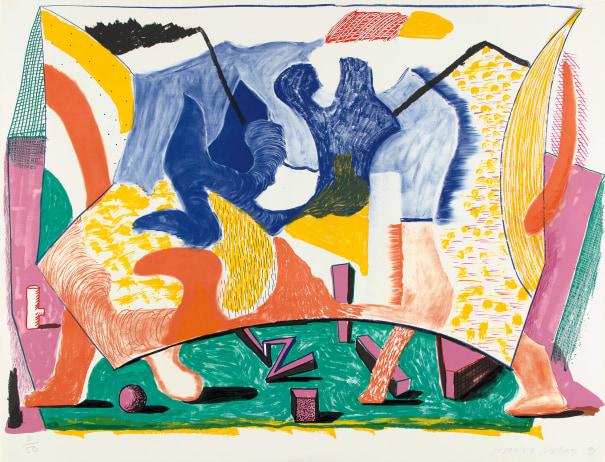 David Hockney「Twelve Fifteen」
