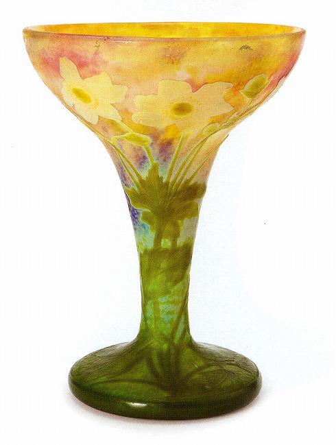 ドーム「キンポウゲ文花瓶」
