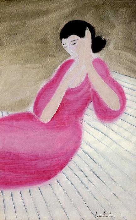 ブラジリエ「バラ色のドレス」