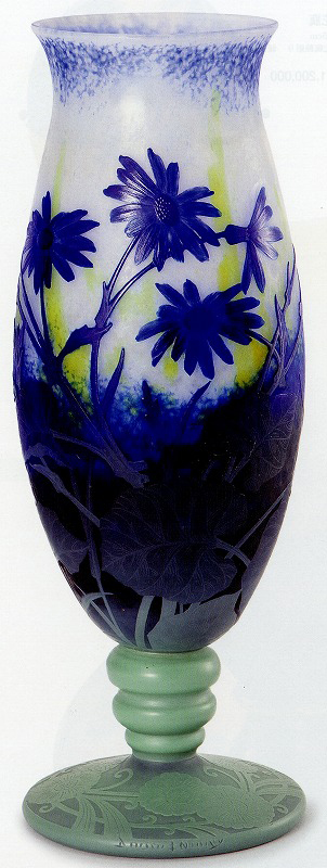 ドーム「ツワブキ文花瓶」