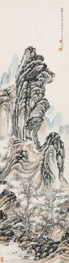 林散之「深山古寺(壬申(1932年)作)」