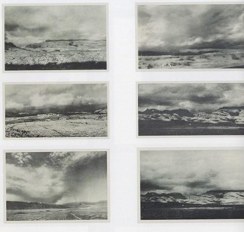 ゲルハルト・リヒター「Kanarische Landschaften II(6枚1組版画集)」