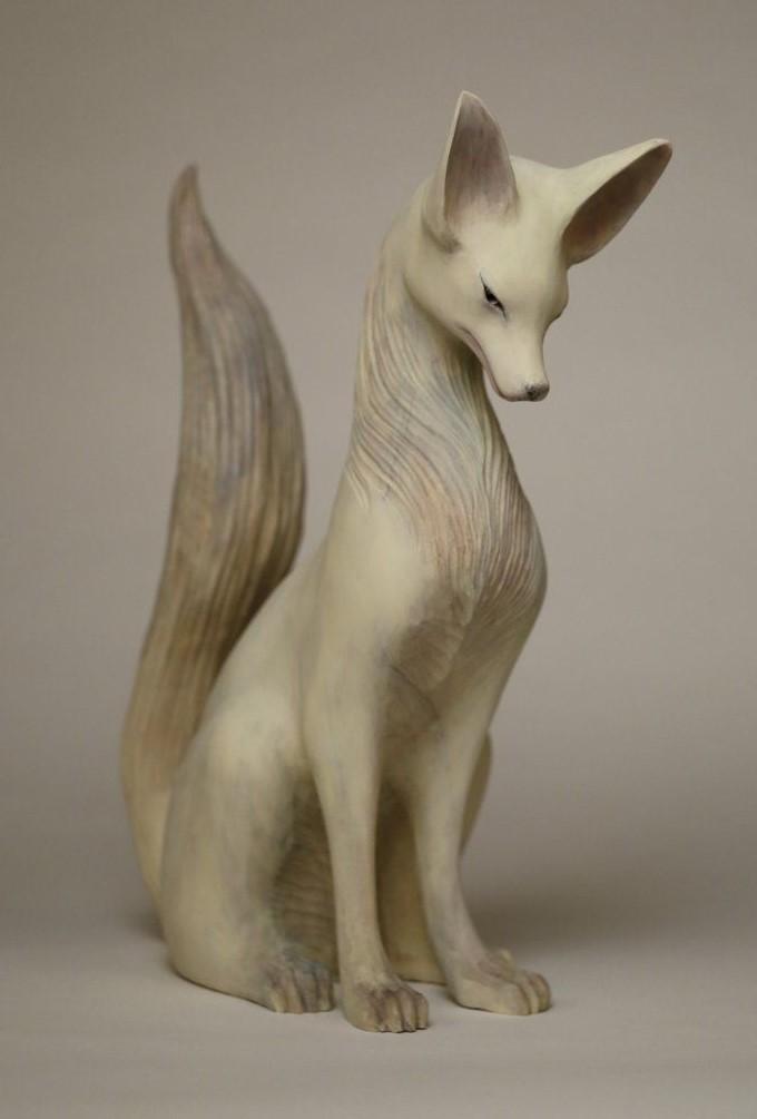 土屋仁応「狐」